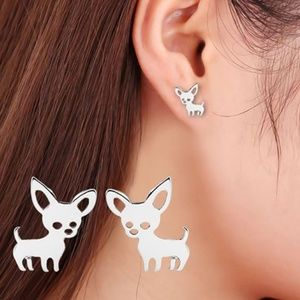 5/$24 Small Chihuahua Post Earrings